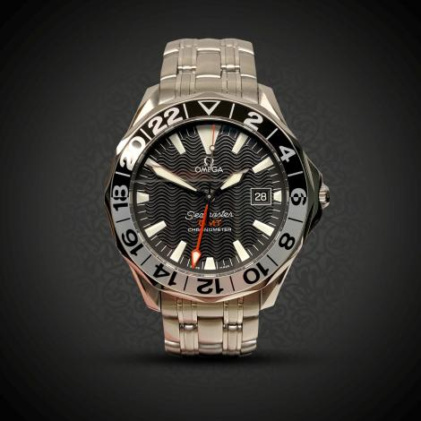 Preowned Omega Seamaster GMT 25345000